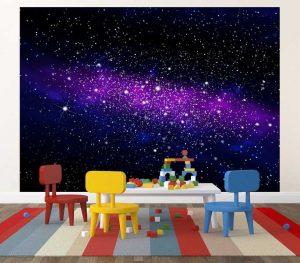 Fototapete Galaxy Weltall Tisch