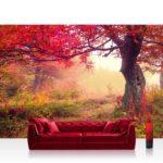 Vlies Fototapete Herbst Baum