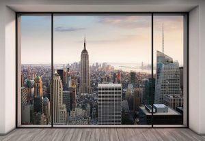 Vlies Fototapete New York Penthouse