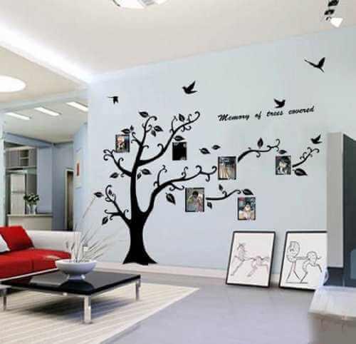 wandtattoo baum bilderrahmen familienbaum. Black Bedroom Furniture Sets. Home Design Ideas
