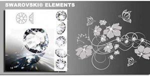 Wandtattoo Blumenranke Details