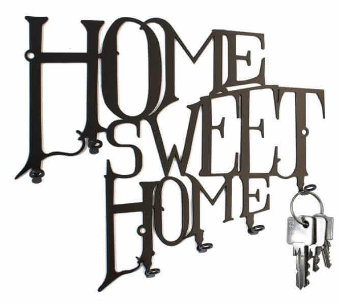 Schlüsselbrett Home Sweet Home