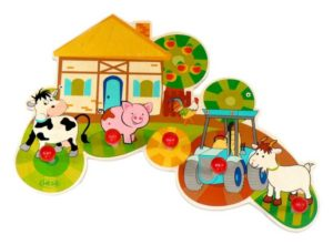 Kindergarderobe Bauernhof