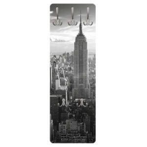 Wandgarderobe Manhattan Skyline Frontansicht