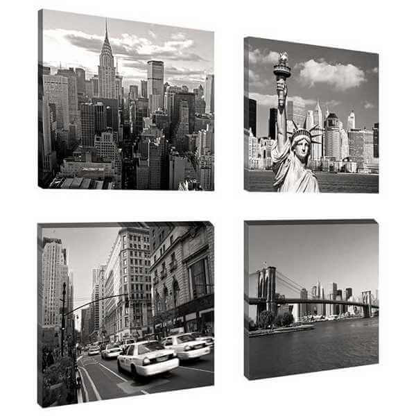 Leinwandbild New York 4teilig