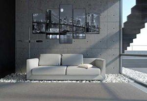 Leinwandbild New York Wohnansicht Couch