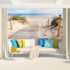 vlies fototapete meer wandtapete strand. Black Bedroom Furniture Sets. Home Design Ideas