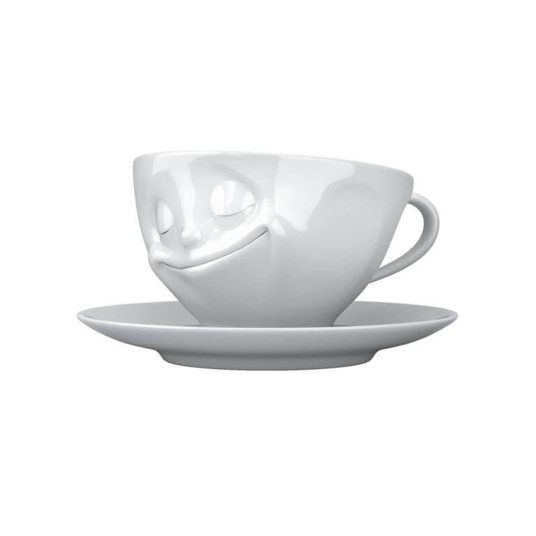 glückliche Kaffeetasse FiftyEight