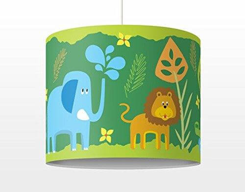 Kinderlampe Zootiere