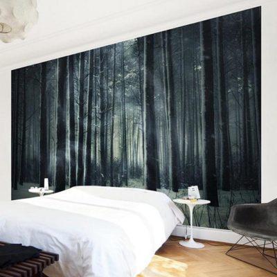 Vlies Fototapete Mystischer Märchenwald