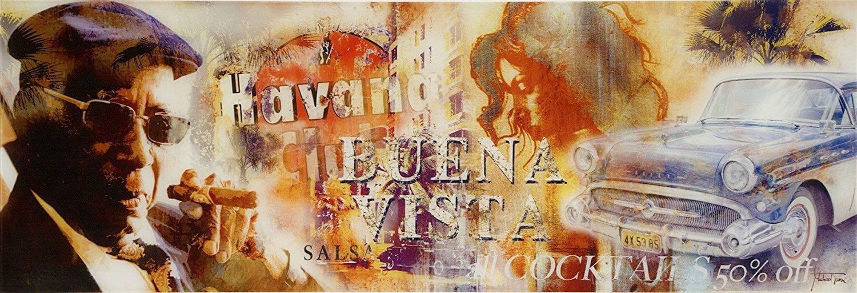 Glasbild Buena Vista
