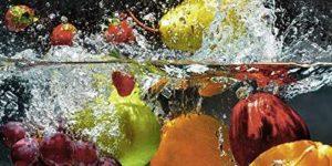Glasbild Obst