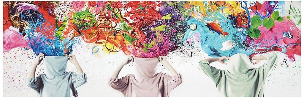 Leindwandbild Brain Explosions