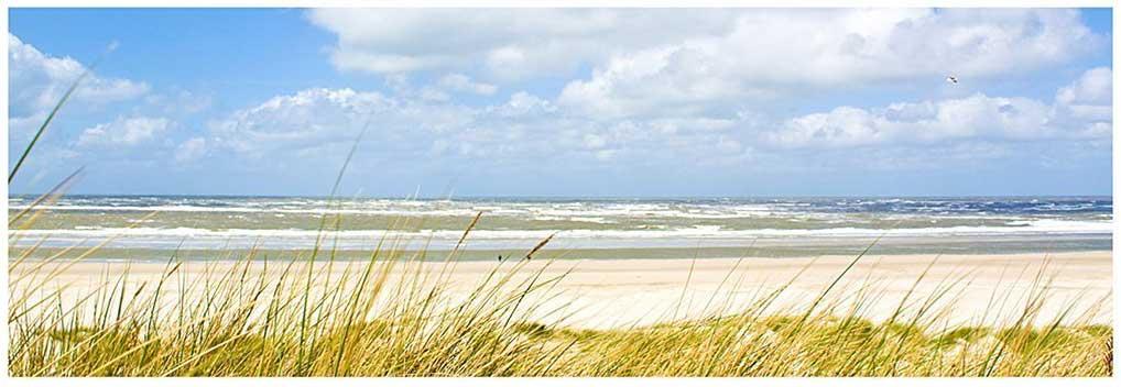 Leinwandbild Nordseeküste