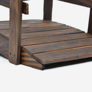 Holzbrücke nah