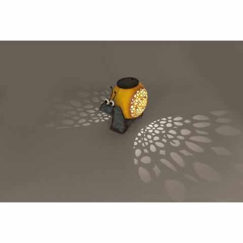 Solarleuchte Schnecke Llicht