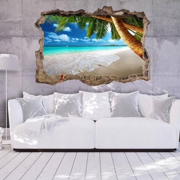 Fototapete 3D Strand