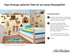 Wandsticker Kinderzimmer Bauernhof Set Raumgefühl
