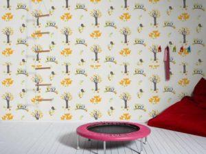 Esprit Kindertapete Forest Wand komplett